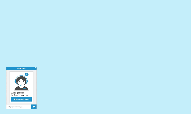 Screenshot of Chatbot product